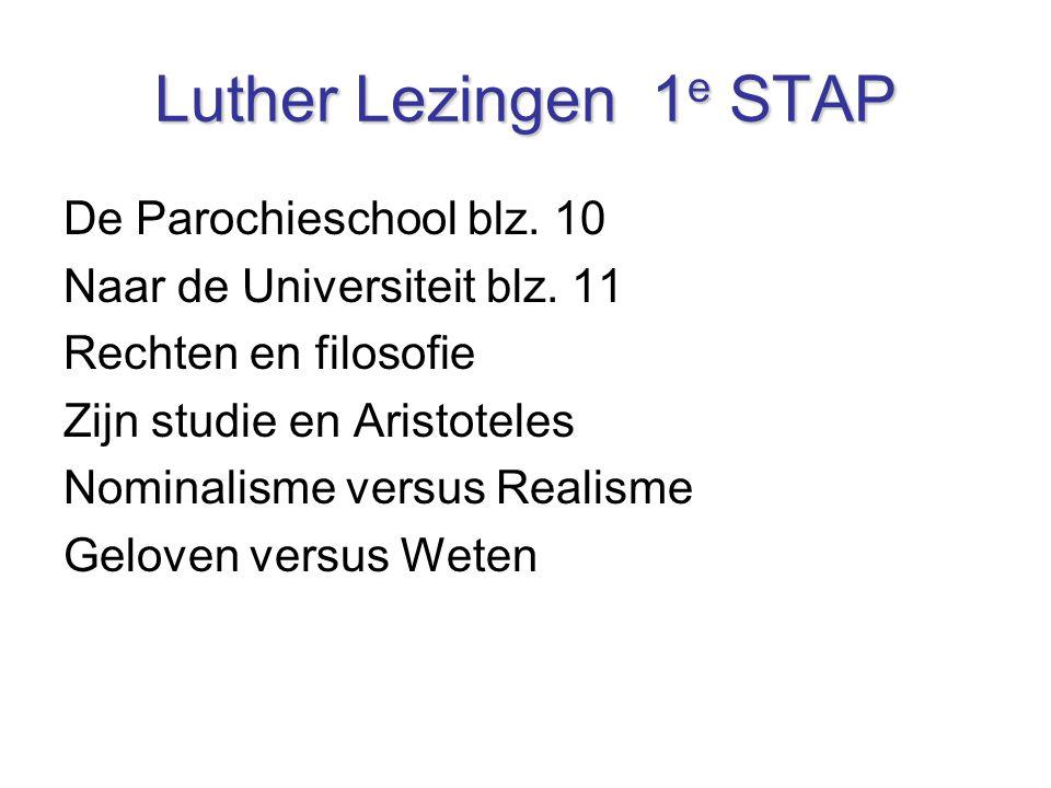 Luther Lezingen 1e STAP De Parochieschool blz. 10