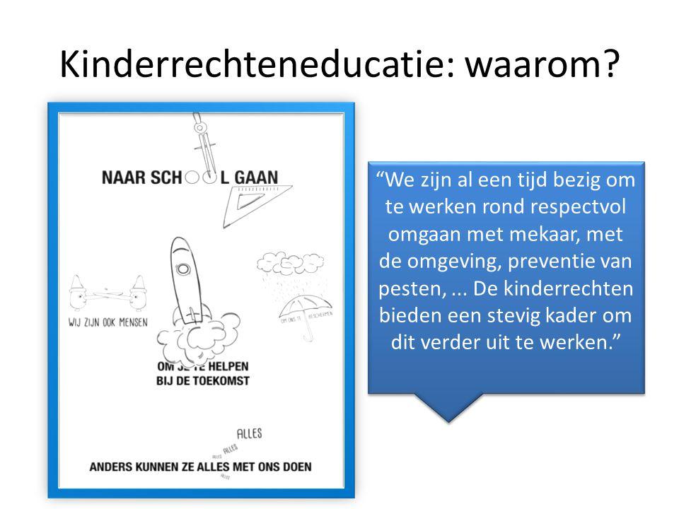 Kinderrechteneducatie: waarom