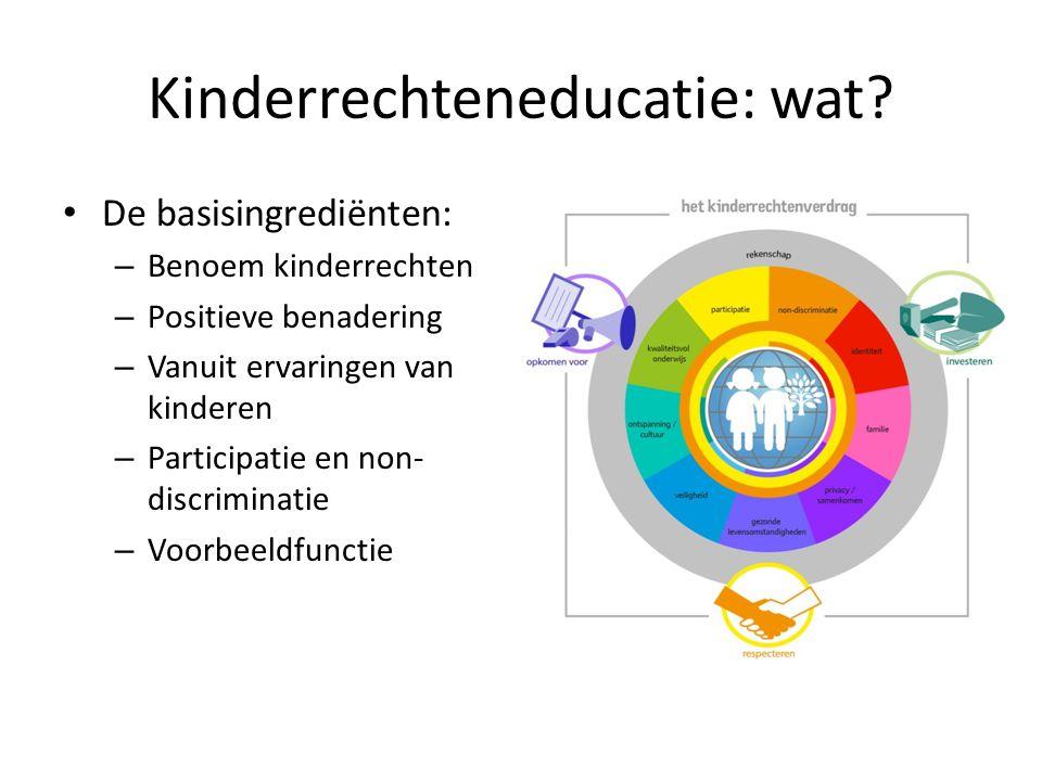 Kinderrechteneducatie: wat