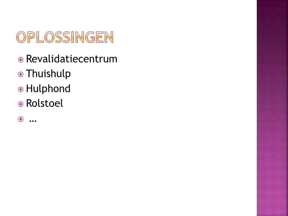 oplossingen Revalidatiecentrum Thuishulp Hulphond Rolstoel …
