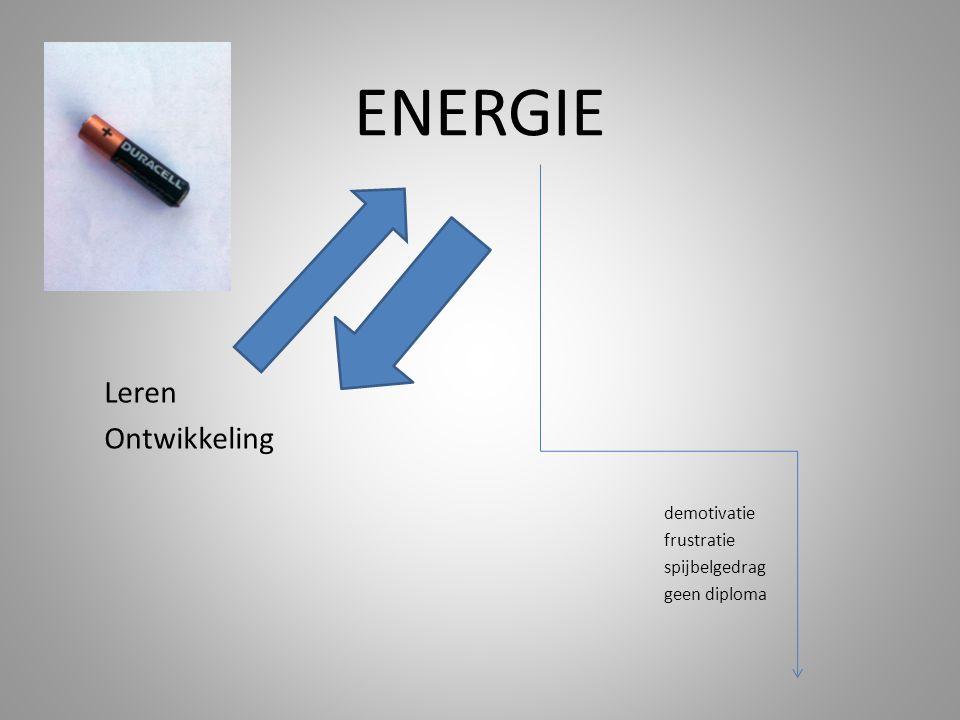 ENERGIE Leren Ontwikkeling