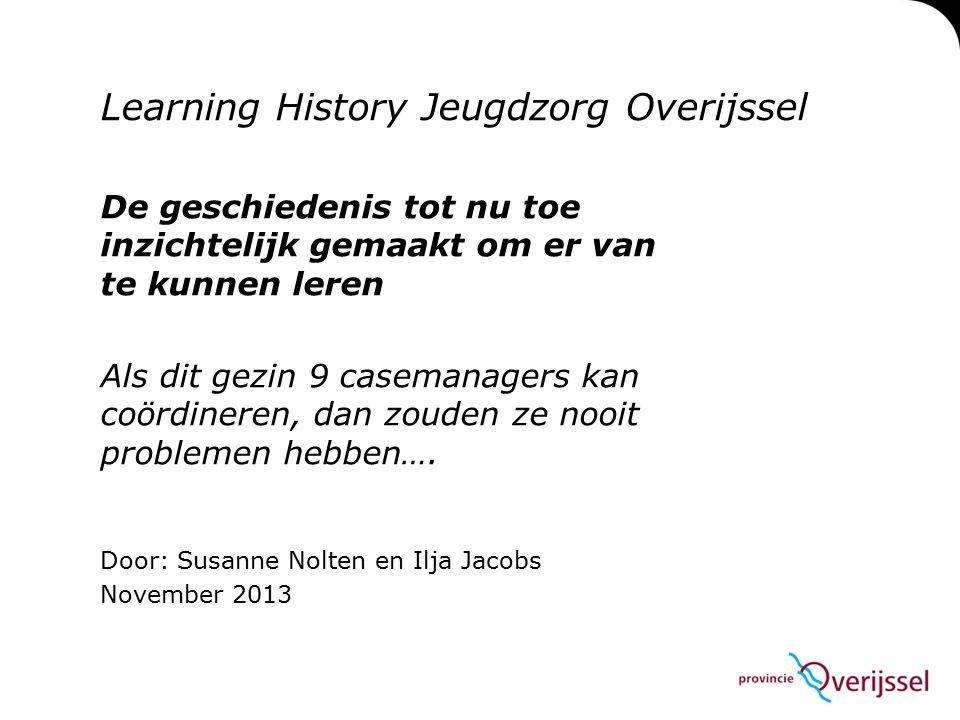 Learning History Jeugdzorg Overijssel