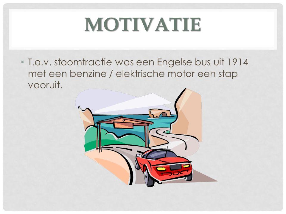 MOTIVATIE T.o.v.