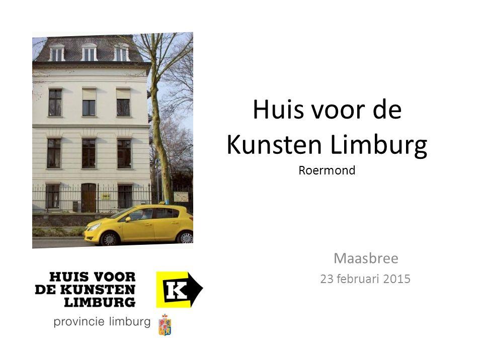 Huis voor de Kunsten Limburg Roermond