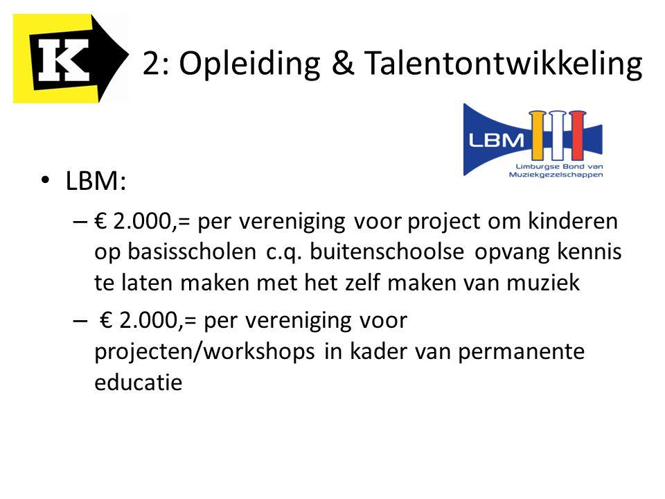 2: Opleiding & Talentontwikkeling