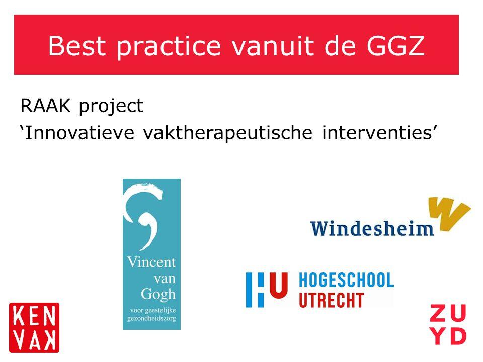 Best practice vanuit de GGZ