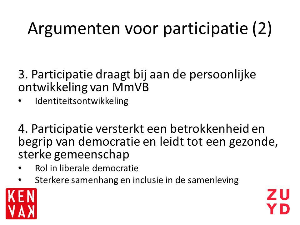 Argumenten voor participatie (2)