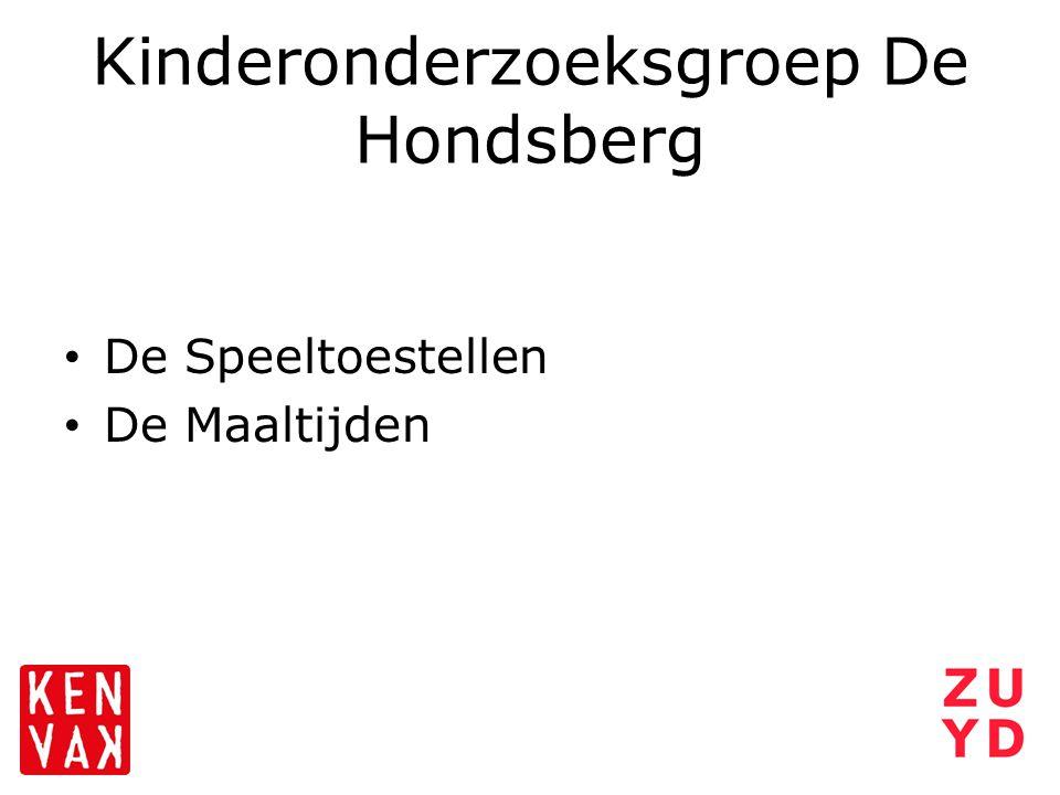 Kinderonderzoeksgroep De Hondsberg