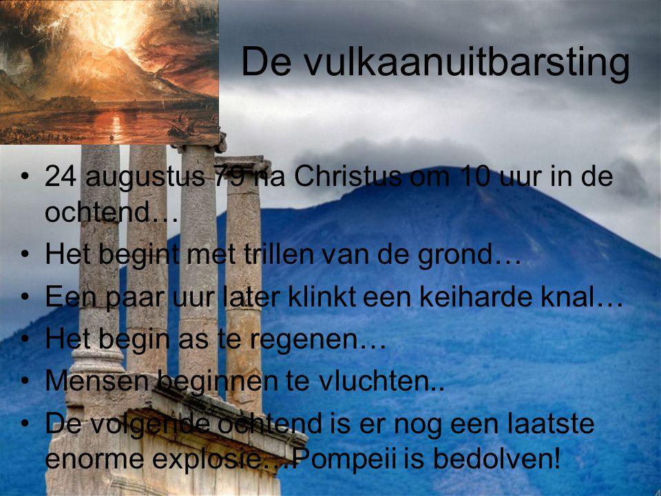 De vulkaanuitbarsting