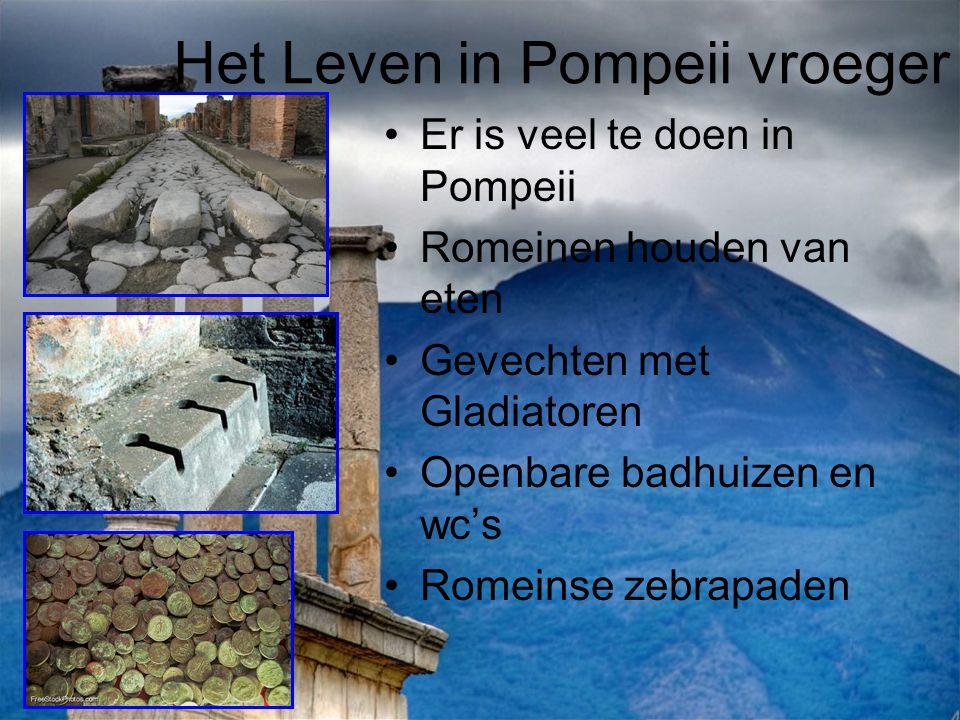 Het Leven in Pompeii vroeger