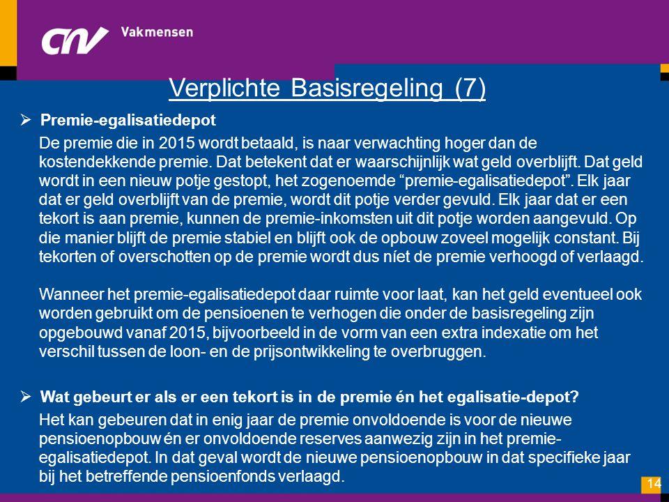 Verplichte Basisregeling (7)