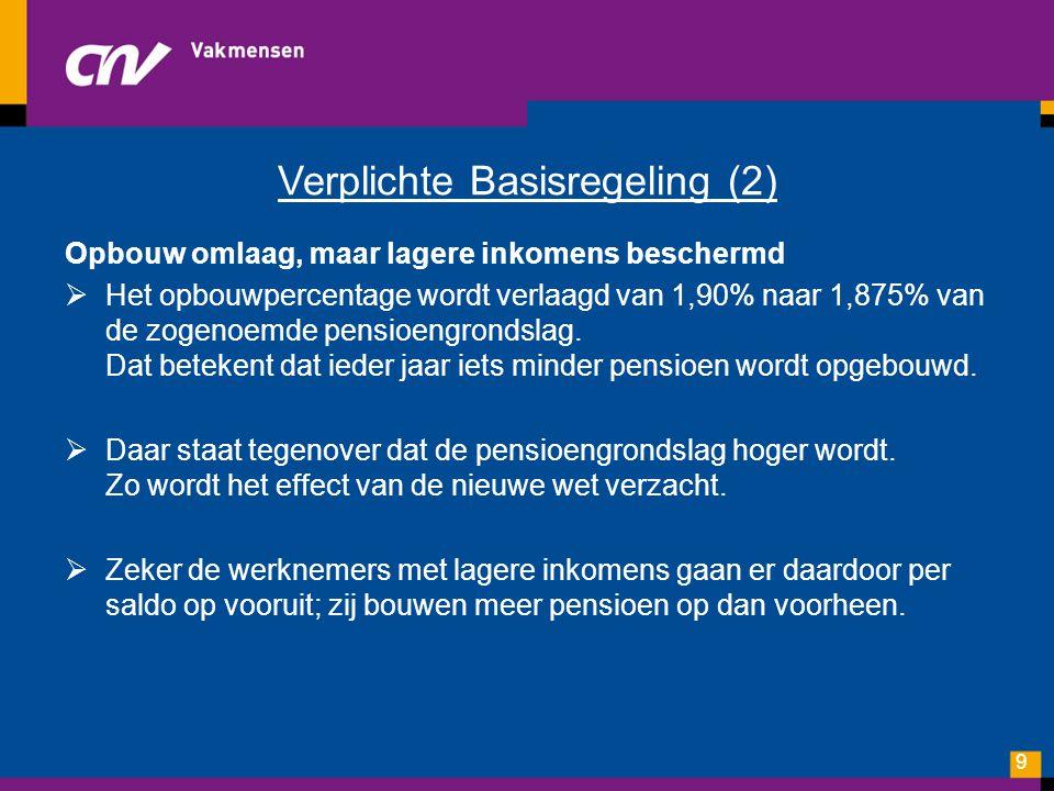 Verplichte Basisregeling (2)