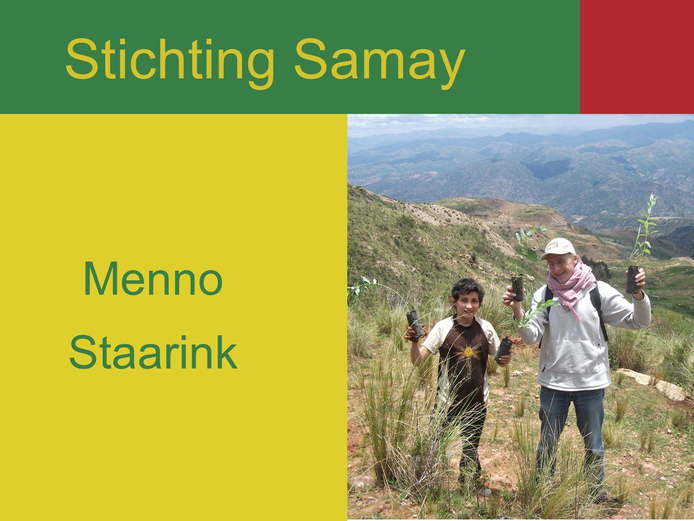 Stichting Samay Stichting Samay Menno Staarink