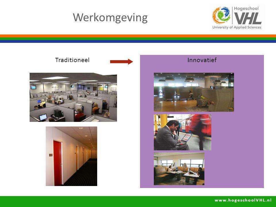 Werkomgeving Innovatief Traditioneel