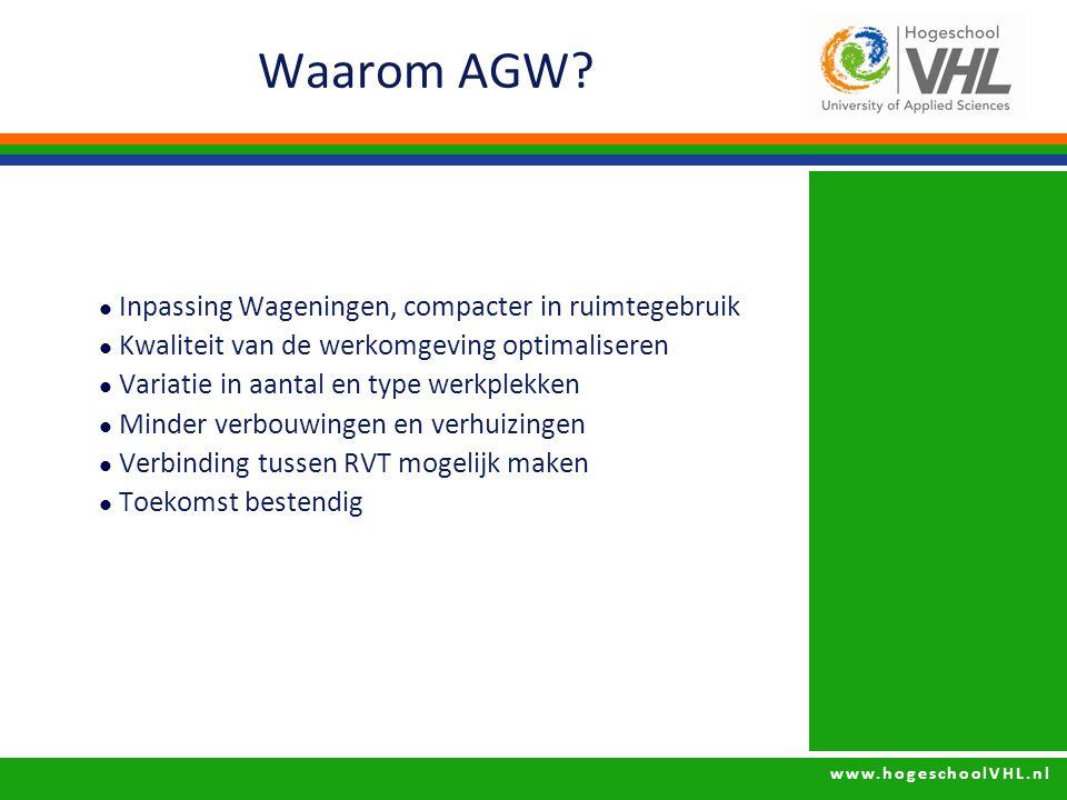 Waarom AGW Inpassing Wageningen, compacter in ruimtegebruik
