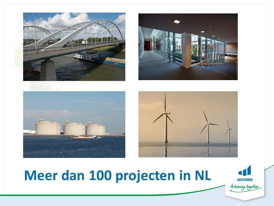 Meer dan 100 projecten in NL