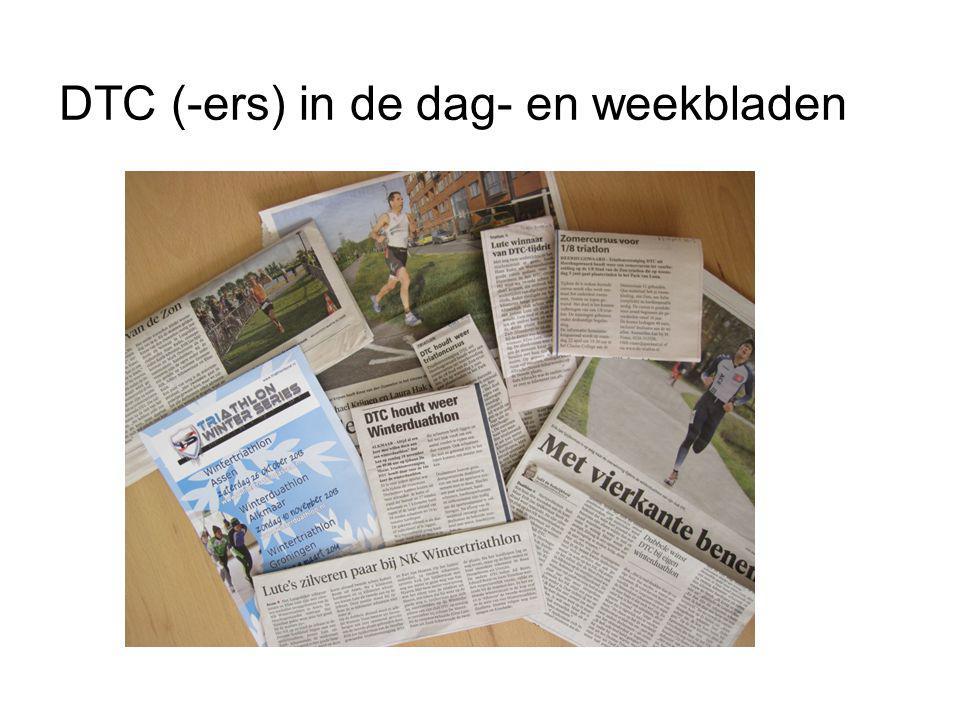 DTC (-ers) in de dag- en weekbladen