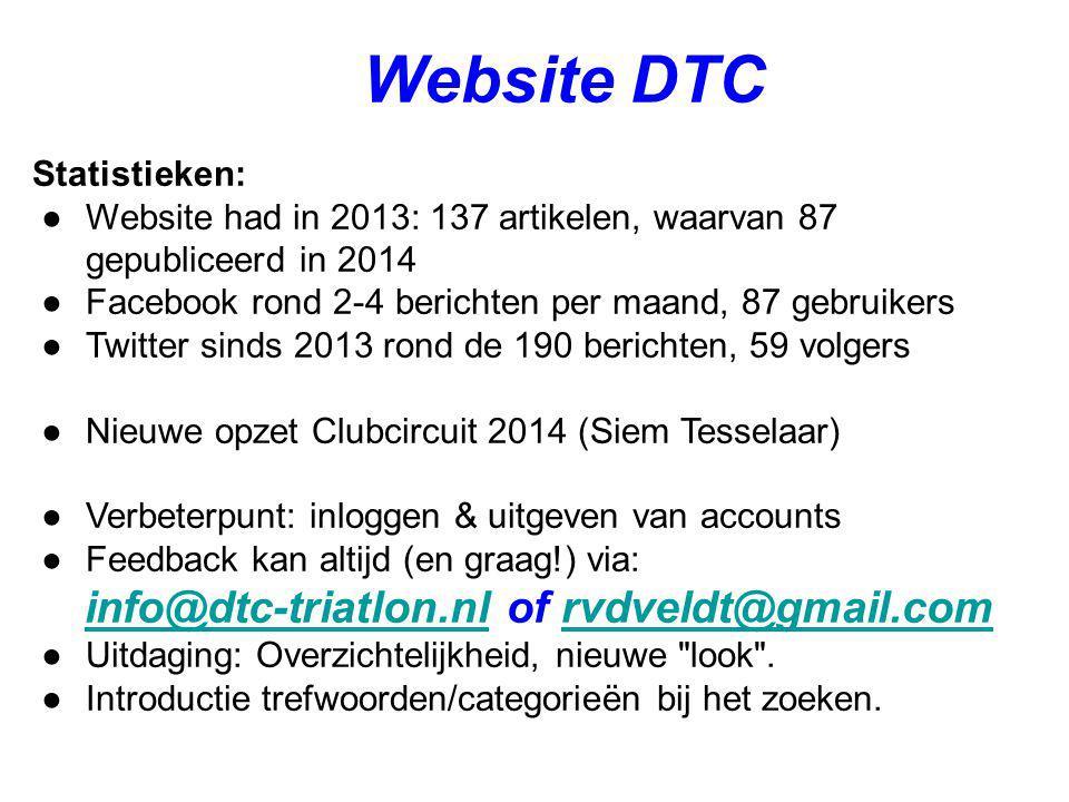 info@dtc-triatlon.nl of rvdveldt@gmail.com