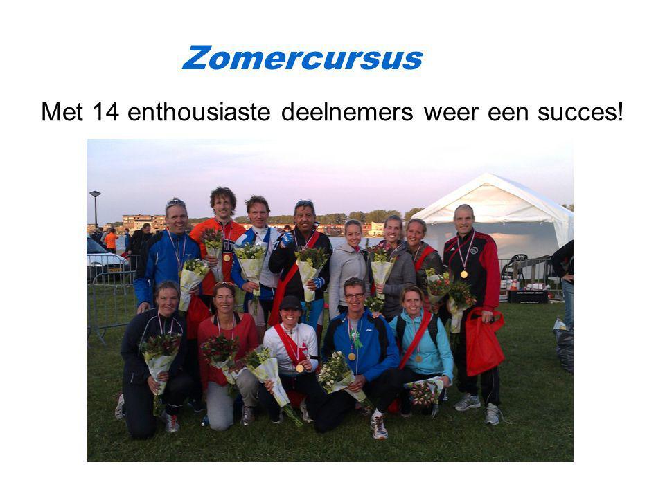 Zomercursus Met 14 enthousiaste deelnemers weer een succes!
