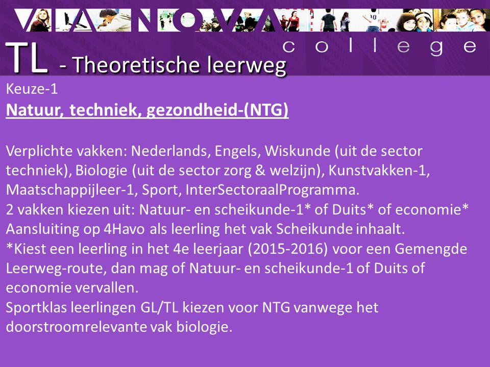 TL - Theoretische leerweg