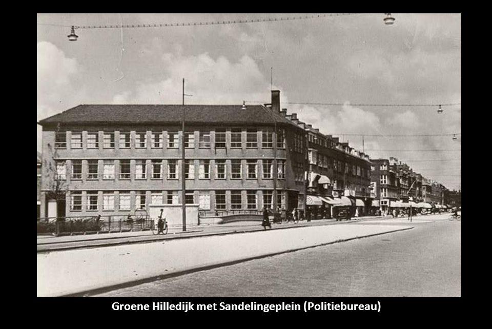 Groene Hilledijk met Sandelingeplein (Politiebureau)