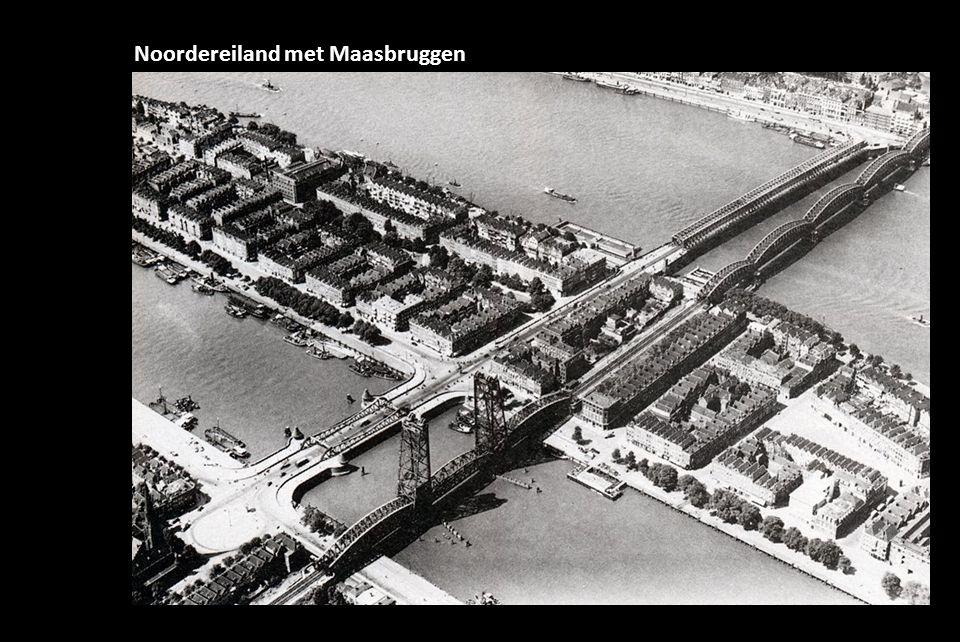 Noordereiland met Maasbruggen