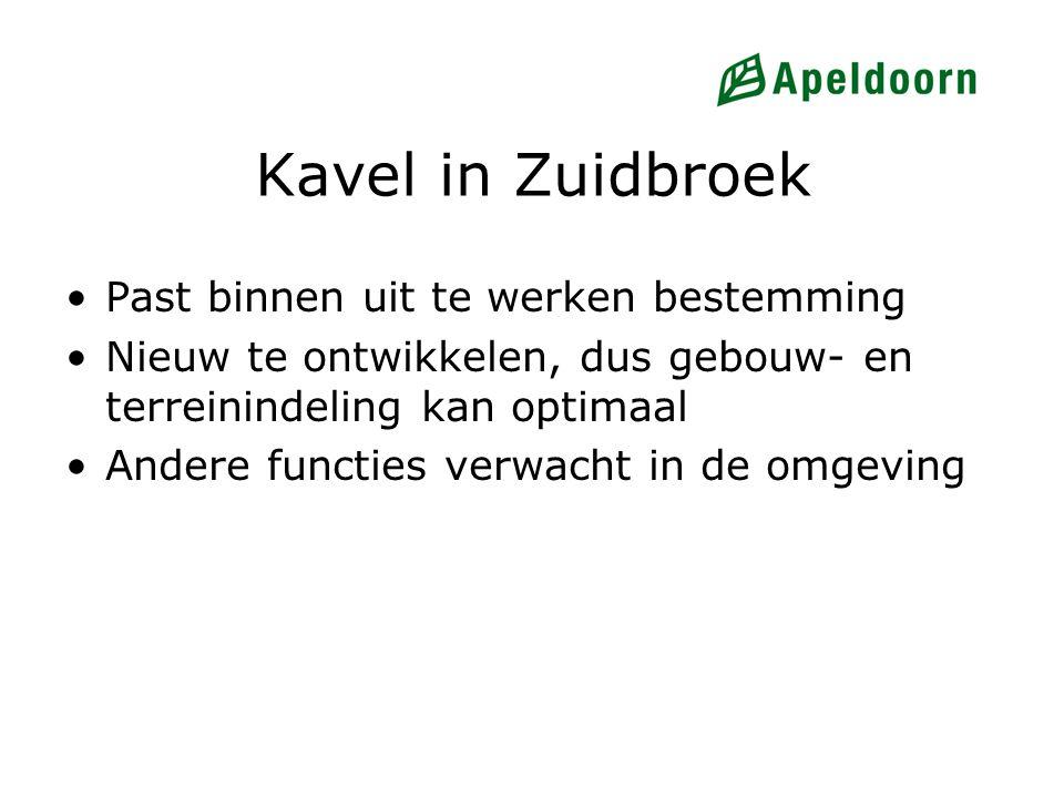 Kavel in Zuidbroek Past binnen uit te werken bestemming