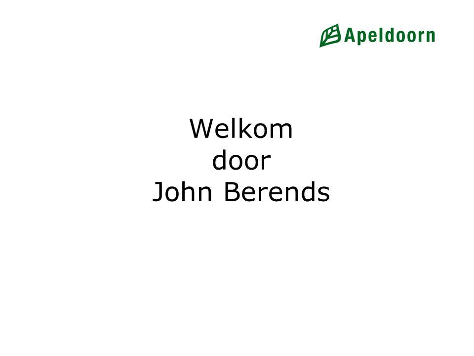 Welkom door John Berends