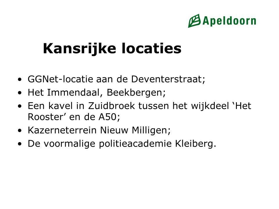 Kansrijke locaties GGNet-locatie aan de Deventerstraat;
