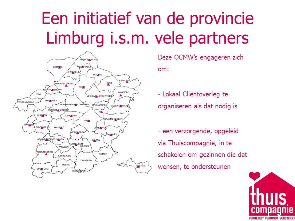 Een initiatief van de provincie Limburg i.s.m. vele partners