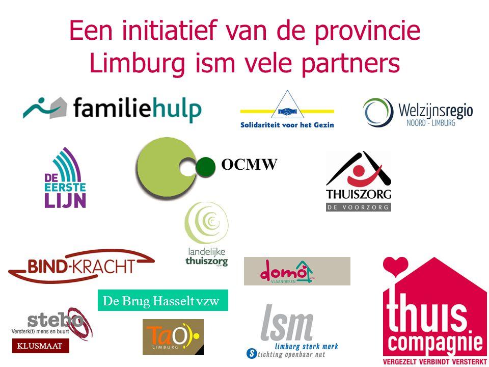 Een initiatief van de provincie Limburg ism vele partners