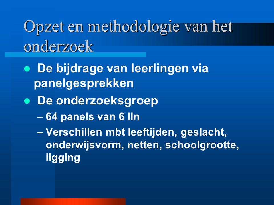Opzet en methodologie van het onderzoek