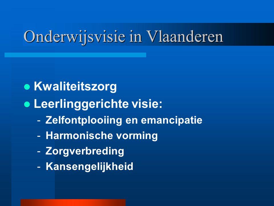 Onderwijsvisie in Vlaanderen