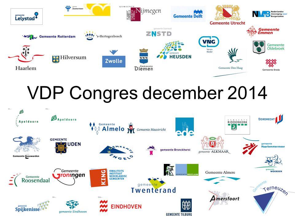 VDP Congres december 2014