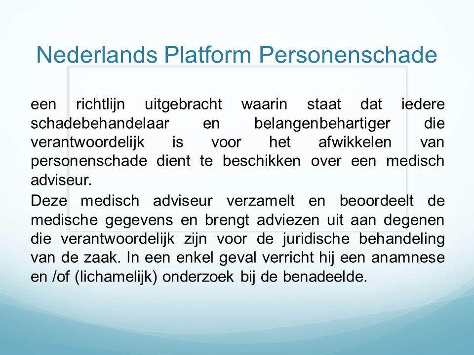 Nederlands Platform Personenschade