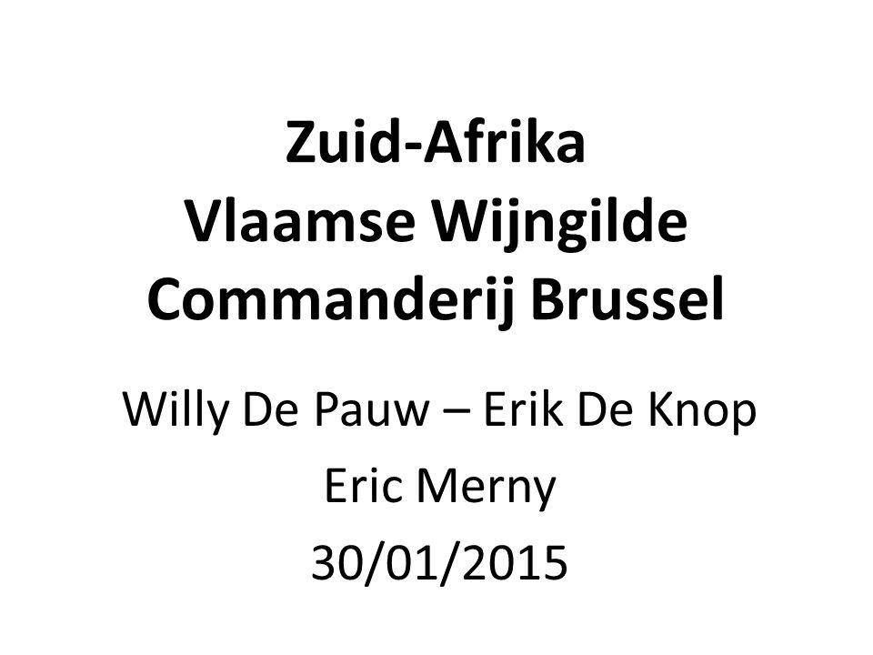 Zuid-Afrika Vlaamse Wijngilde Commanderij Brussel