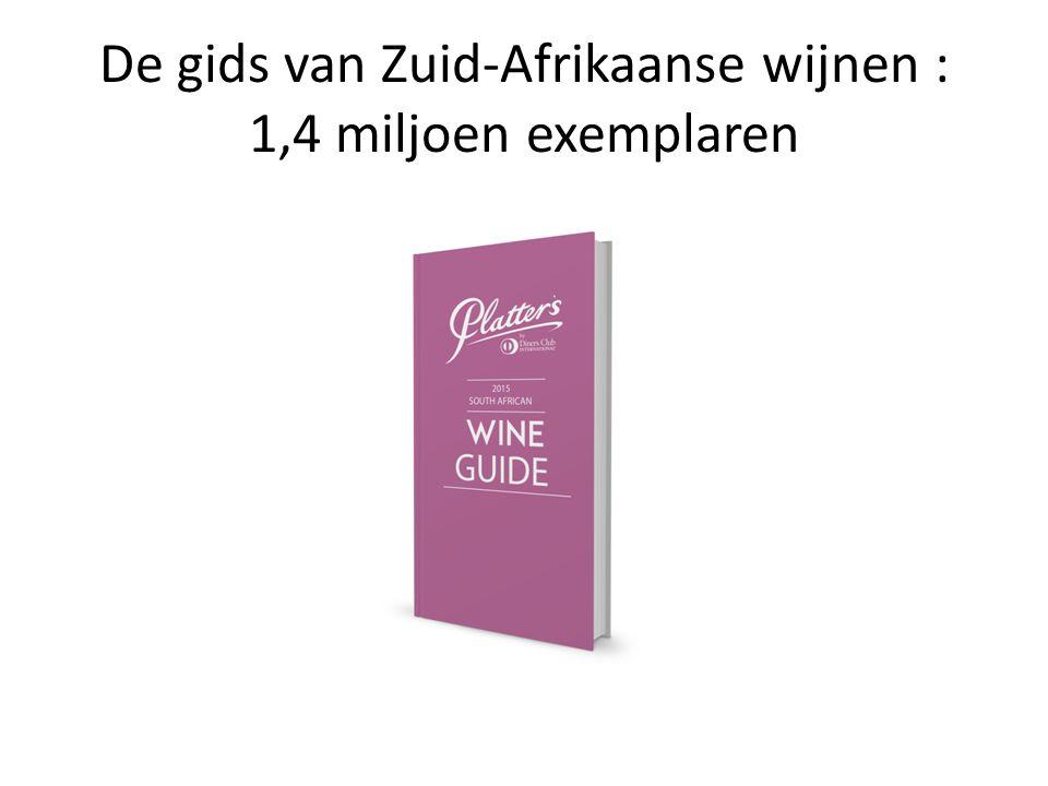 De gids van Zuid-Afrikaanse wijnen : 1,4 miljoen exemplaren