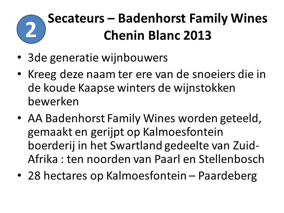 Secateurs – Badenhorst Family Wines Chenin Blanc 2013