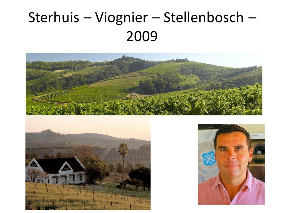Sterhuis – Viognier – Stellenbosch – 2009