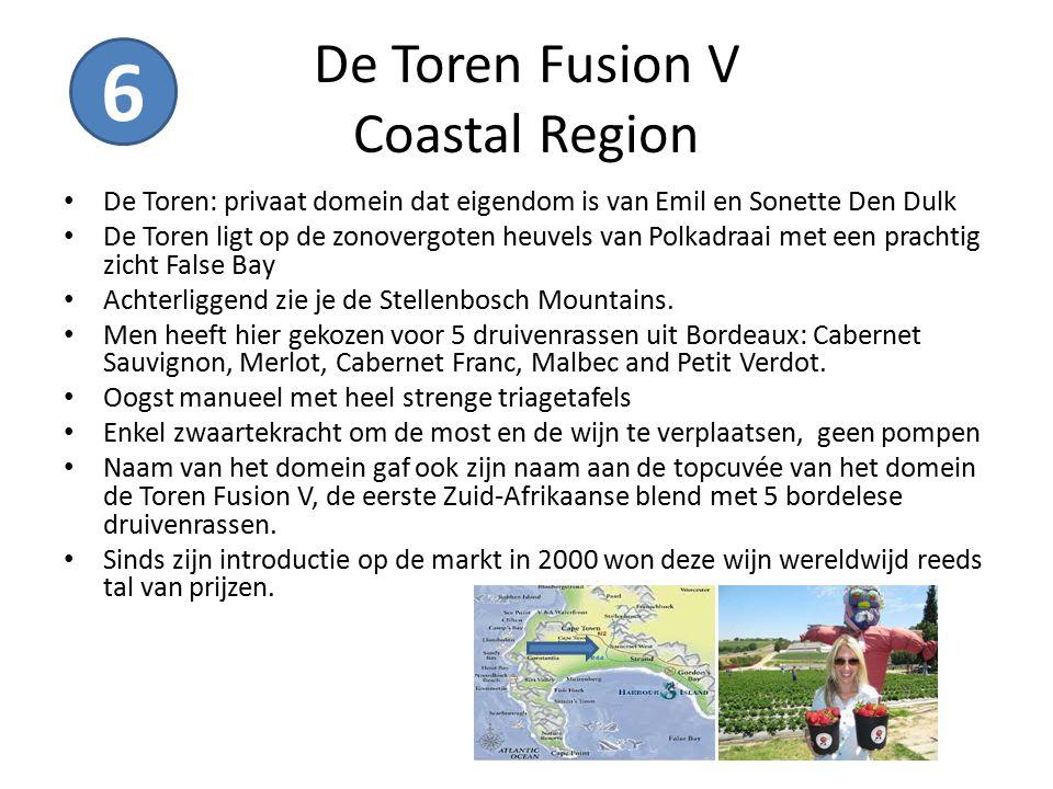De Toren Fusion V Coastal Region