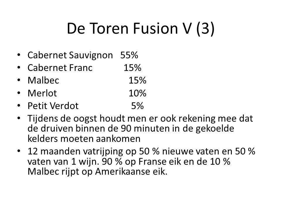 De Toren Fusion V (3) Cabernet Sauvignon 55% Cabernet Franc 15%
