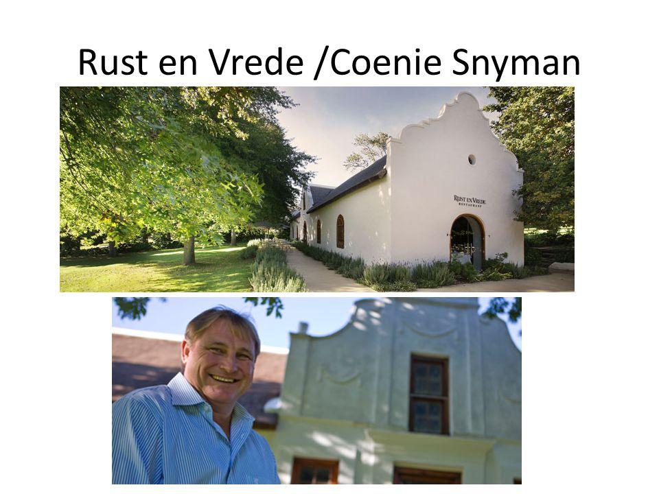 Rust en Vrede /Coenie Snyman