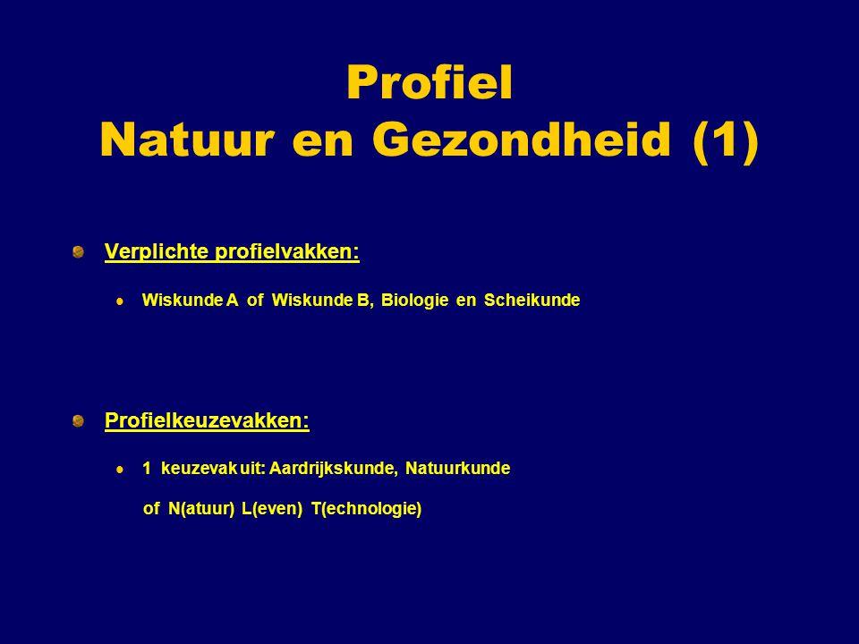 Profiel Natuur en Gezondheid (1)