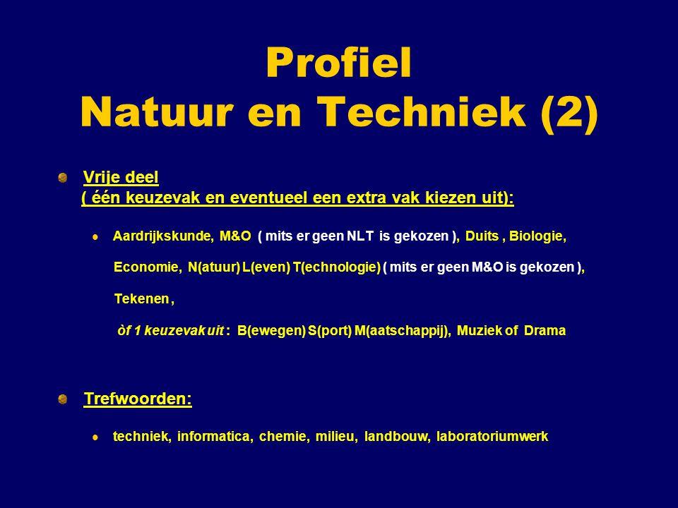 Profiel Natuur en Techniek (2)