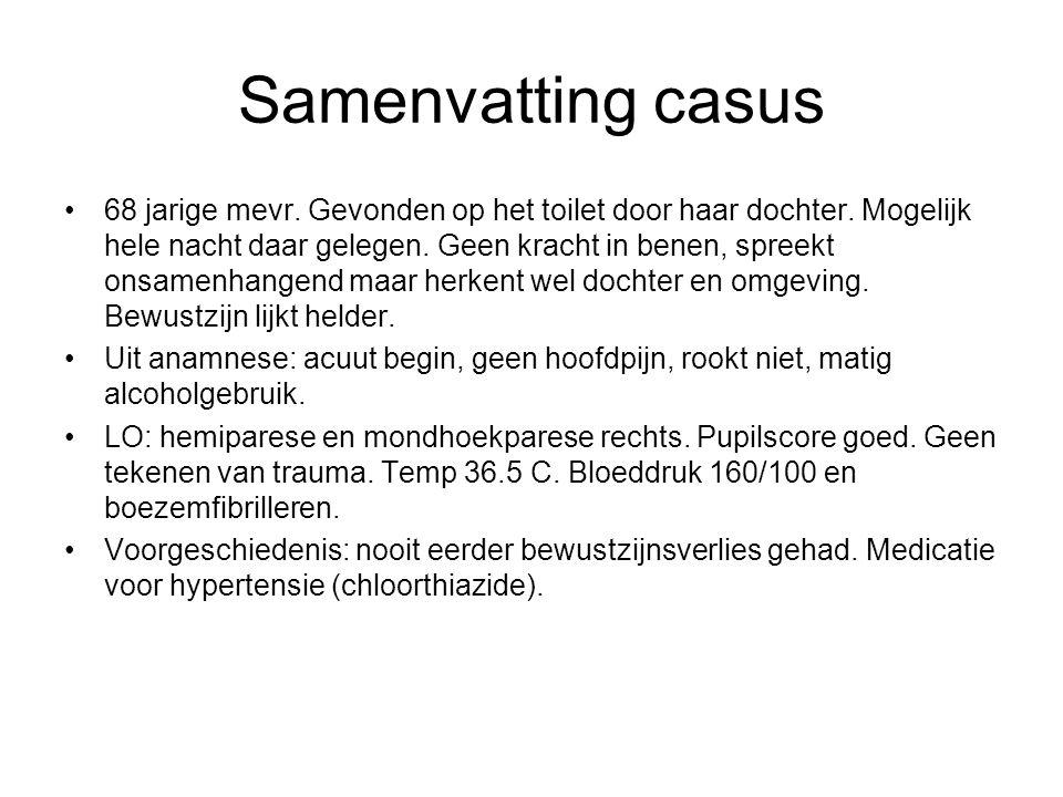 Samenvatting casus