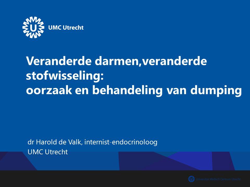 dr Harold de Valk, internist-endocrinoloog UMC Utrecht