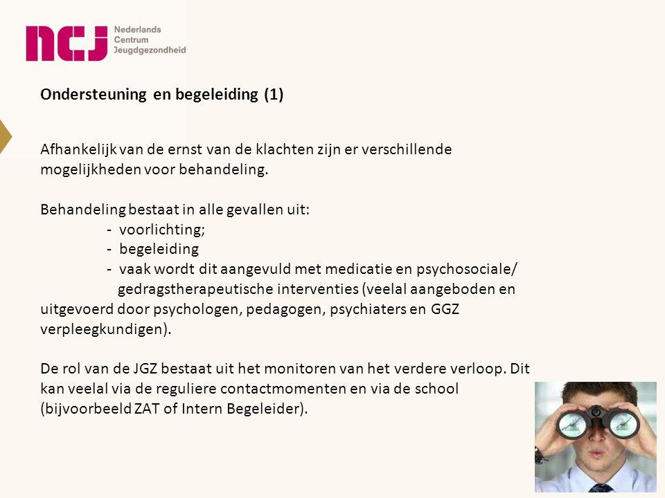 Ondersteuning en begeleiding (1)