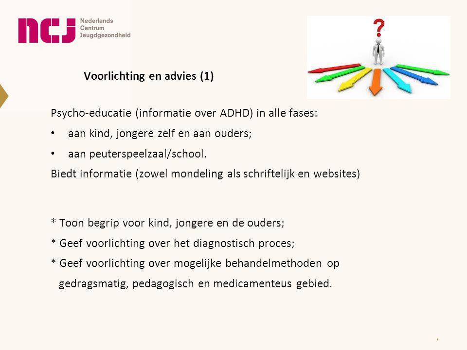 Voorlichting en advies (1)