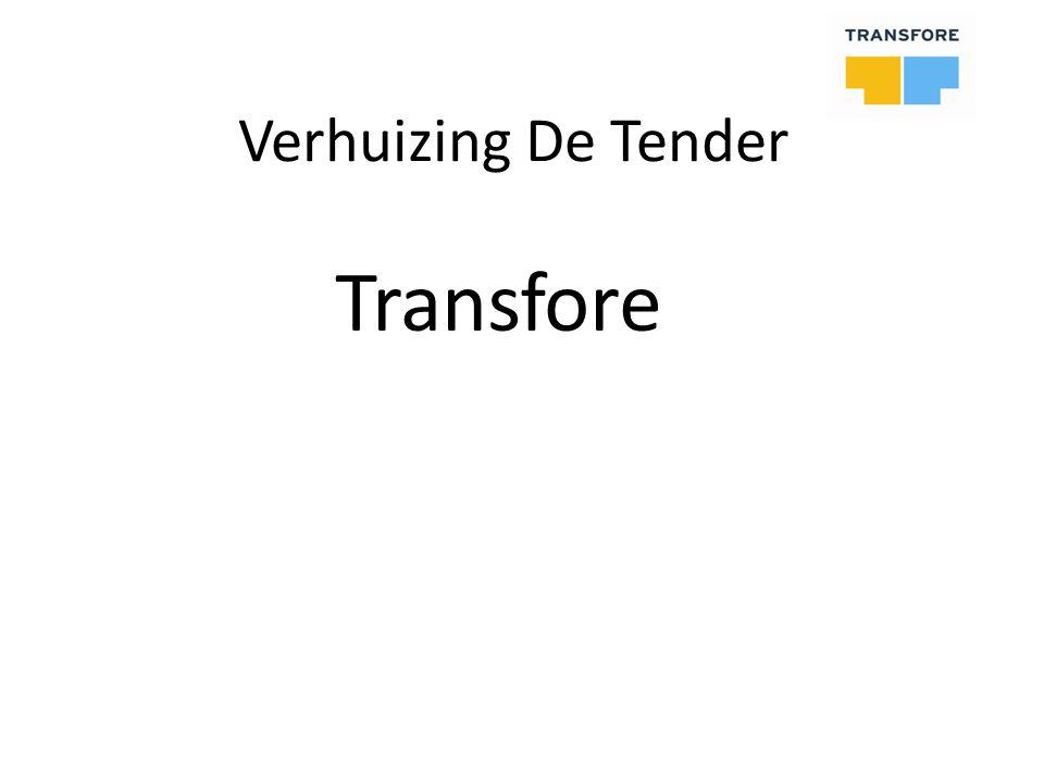 Verhuizing De Tender Transfore