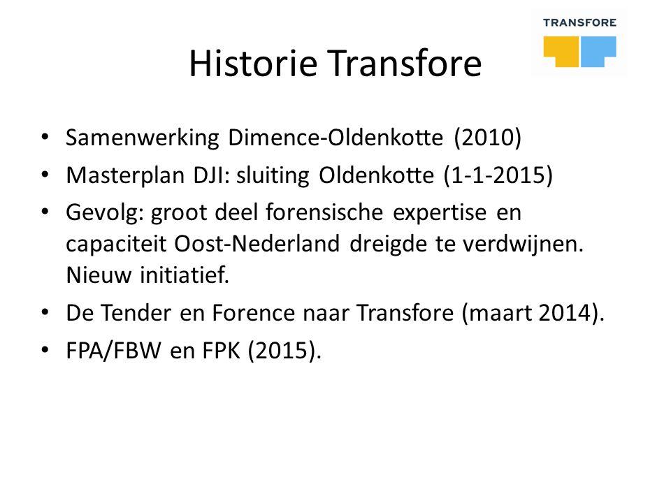 Historie Transfore Samenwerking Dimence-Oldenkotte (2010)